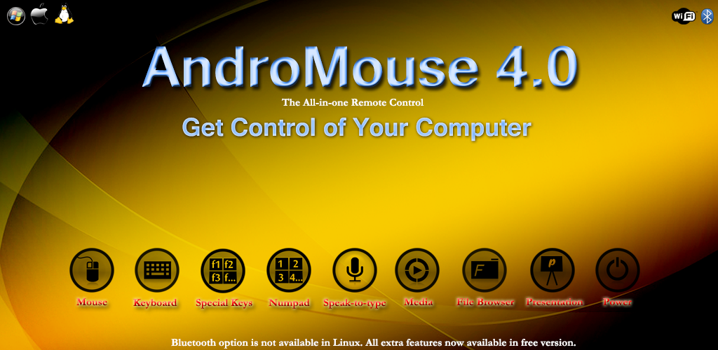 AndroMouse Feat