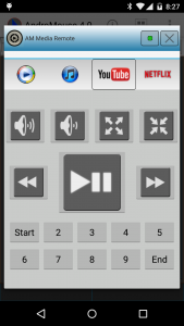 AndroMouse Media Remote