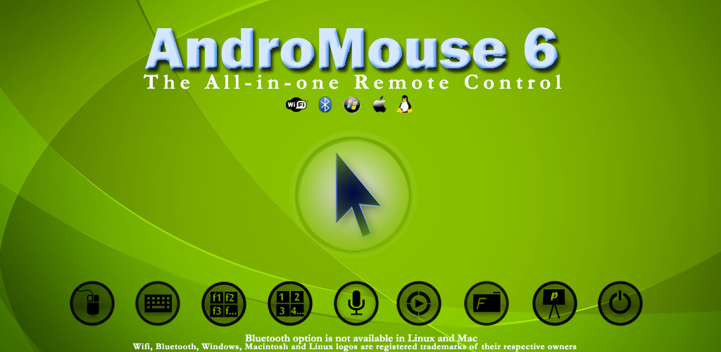 AndroMouse 6 3 – Android Wireless Mouse And Keyboard